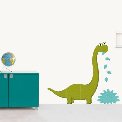 Gli adesivi della famiglia o il signor Dino Dino di Nathalie Choux