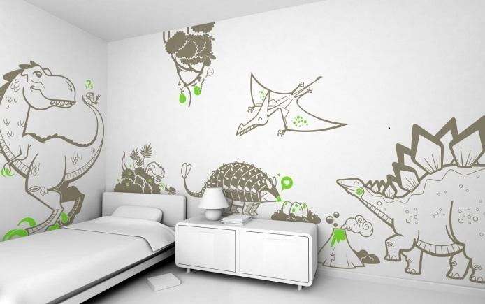 adesivi per bambini-wall-decalcomanie e-glue.fr