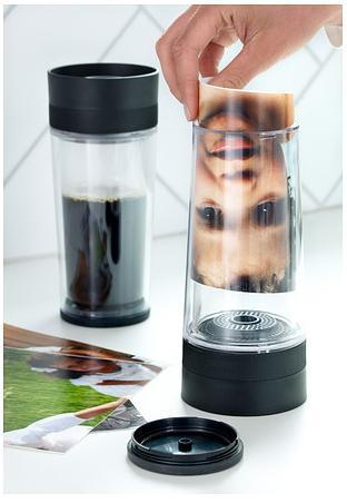 tazza termica hemlig da viaggio di ikea personalizzabile con foto