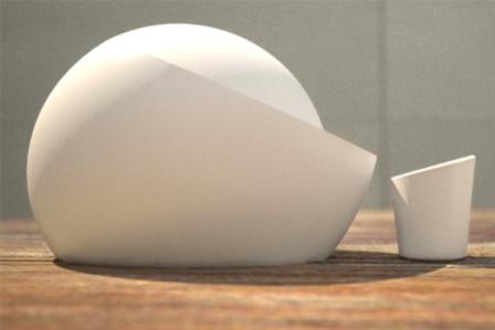 teiera Mo xing di Marco Zevolini è una rivisitazione in chiave moderna delle classiche teiere yi xing
