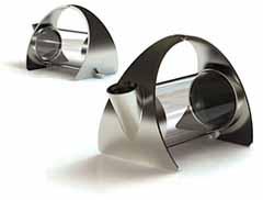 teiera Sorapot Teapot creatada Joey Roth designer americano che ha l'ha definita la teiera più sexy di sempreinvetroeacciaio