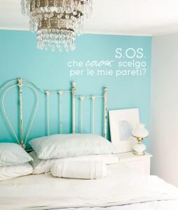 CAMERA pareti-azzurro-tiffany-bedroom