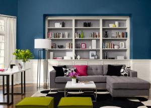 SALOTTO soggiorno salotto-blu
