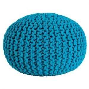 .amazon pouf maglia di nodo design