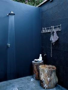 bagno esterno petrolio doccia-esterno-design-