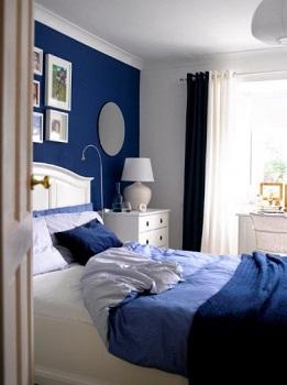 50 sfumature di azzurro architettura e design a roma for Camera da letto blu