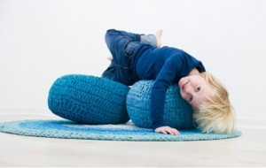 complementi Pouf crochet Sebra