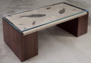 fosJohn Strauss Furniture Design finiture sostenibili realizzate da artigiani amishpiano in calcare di 50 mil