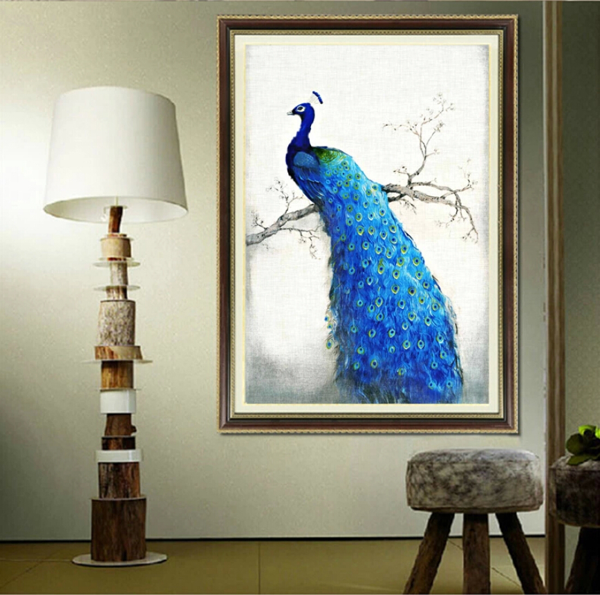 pavone pretty-font-b-peacock-b-font-brightly-3d-font-b-oil-b-font-font-b-canvas
