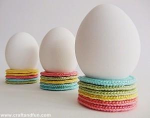 Design Portauova di Pasqua Decorazioni con Materiali di Riciclo e Crochet-190-2