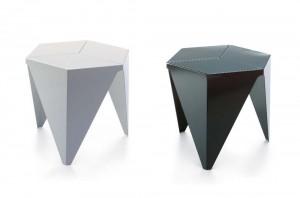 aaa Basato su forme puramente geometriche il tavolo Prismatic si basa su una linea che richiama il design orientale.