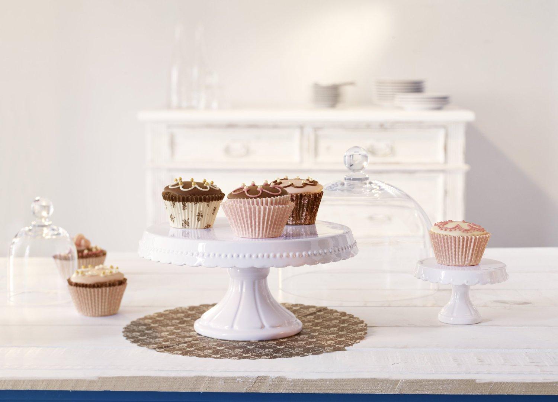.amazon RBV Birkmann 441408 - Piatto per torte Vintage