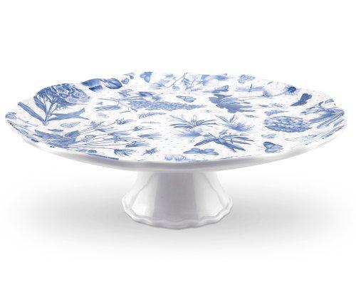 .amazon di Portmeirion -Botanic - Alzatina per torte, Blu nonna