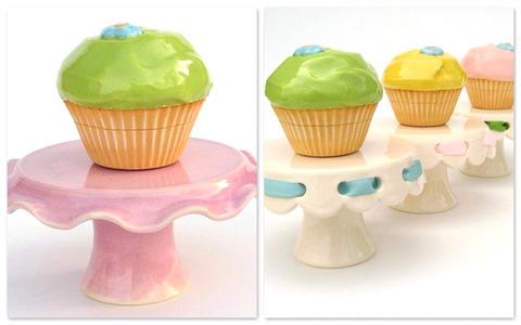 delle deliziose monocupcake dai colori pastello