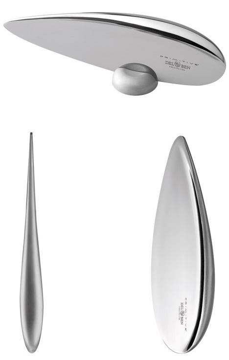 design Prendendo in prestito sia dal minimalismo moderno e preistoria coltello da cucina combina lama e impugnatura