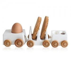 design rceramista eiko kaneko ruote in legno di betulla