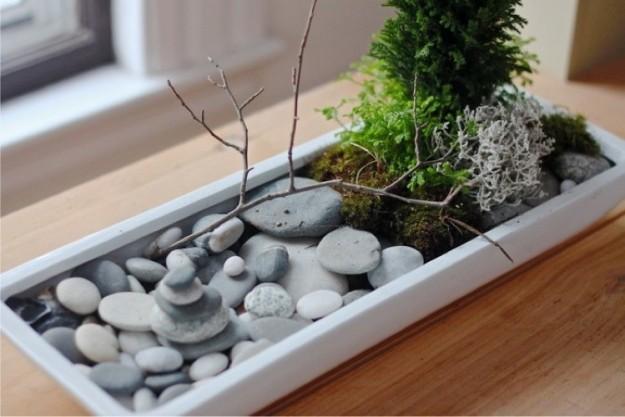 garden piccolo-giardino-con-pietre-e-muschio