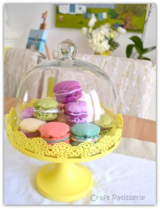 idea CRAFT PATISSERIE - felted-macaron