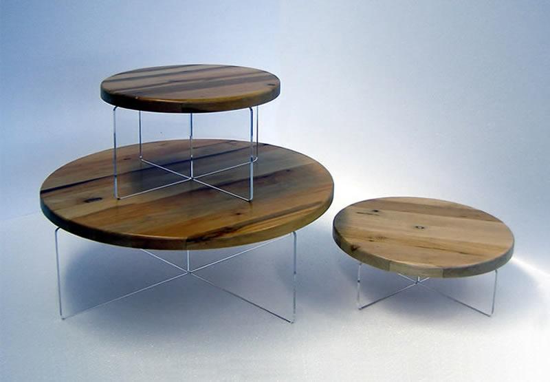 legno alzatina da esposizione in lergno