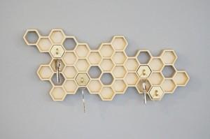 parete portachiavi-Honeycomb_2
