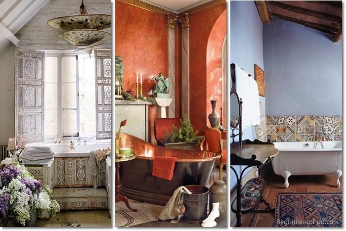 Bagno boho bathroom inspiration architettura e design a roma