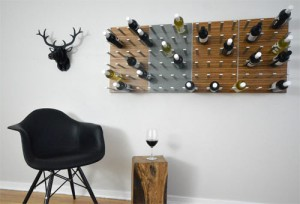 STACT A MODULAR WINE WALL