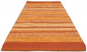 .amazon Tappeto Kilim Indiano Cotone Moderno Autentico Originale - 100x60 Cm