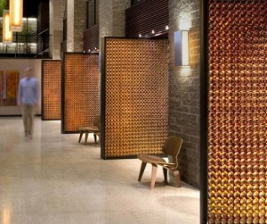 architettura Blatz Beer Bottle Doors di Johnsen Schmaling Architects