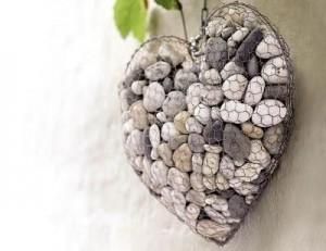 decor rete cuore