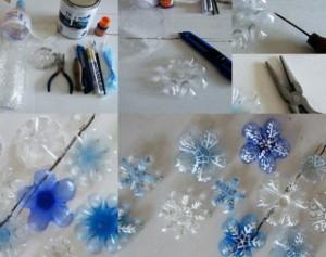 plastica fiocchi di neve