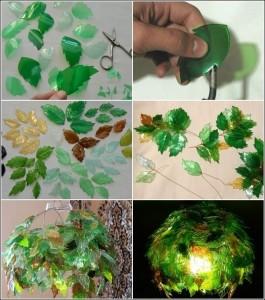 plastica foglie