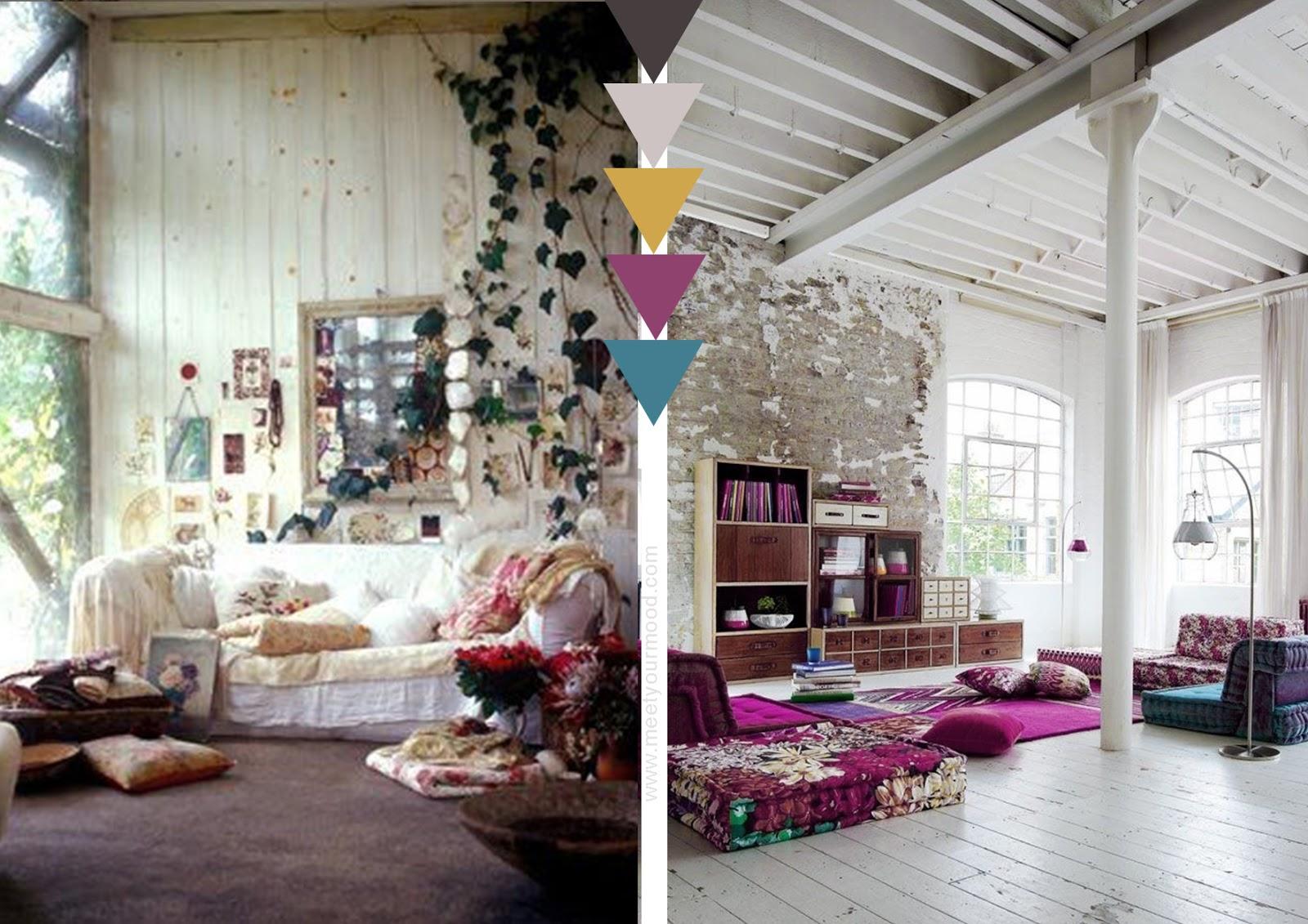 Bohemien uno stile libero architettura e design a roma for Boho style arredamento