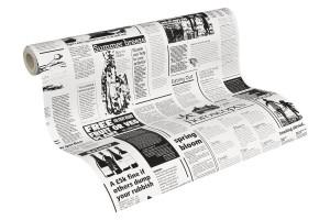 .amazon A.S. Création Carta da parati giornale Nero-Bianco
