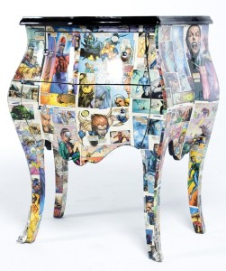 decoupage-stool