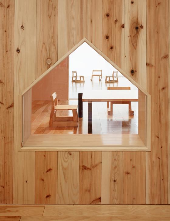 Archivision Hirotani Studio Leimondo Nursery School progetto a Nagahama, Giappone
