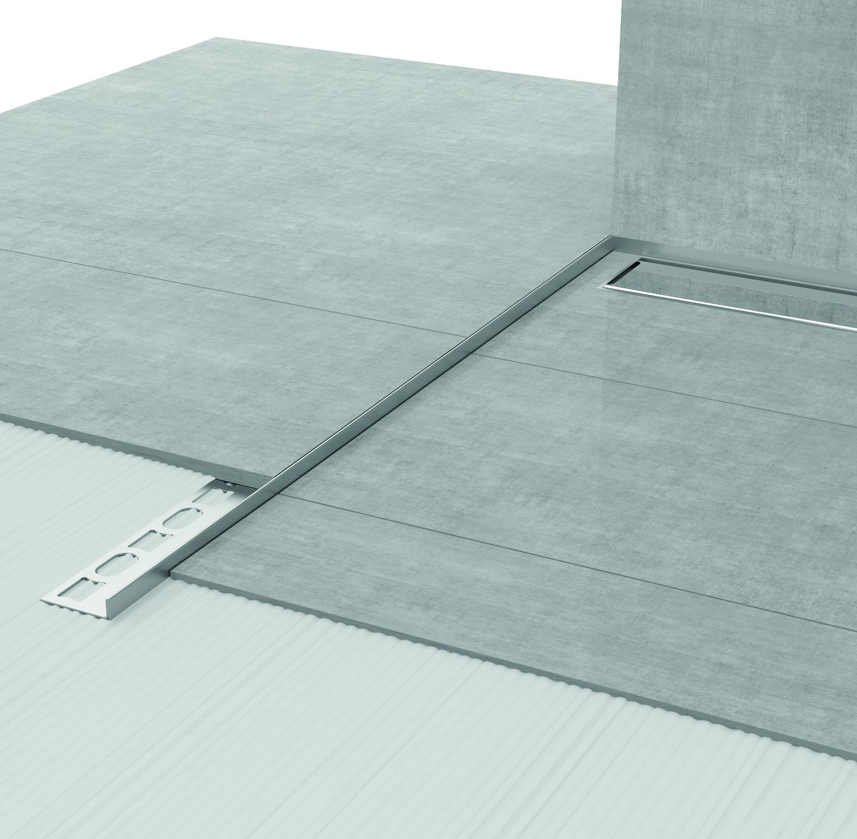 Profilpas un nuovo sistema per concepire l 39 area doccia for Doccia a pavimento senza piatto