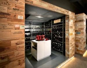 Casse da vino in legno effetto usato per mobili shabby