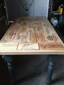 frontali tavolo