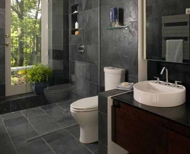 Design Bagno Con Doccia : Grande bagno piccola con doccia a vetro architettura e design a roma