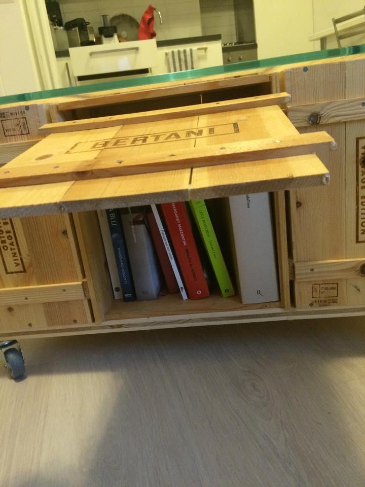 In vino veritas arredare con le cassette del vino blog for Premiato design di casette