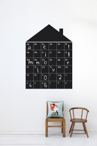 stickers ferm living abc house 60.30 materiale vinilico