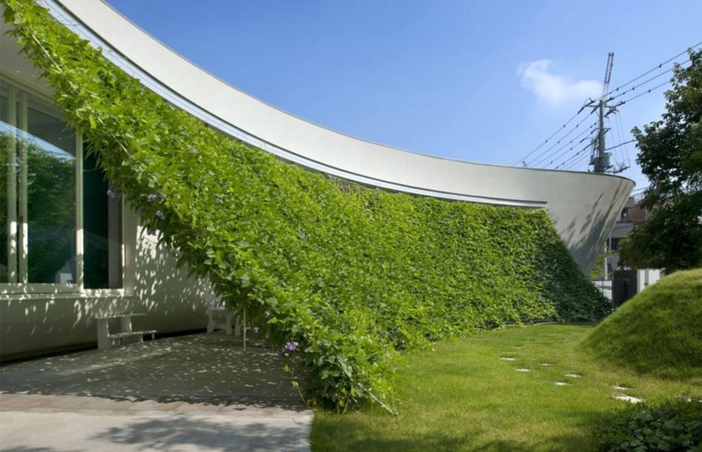 architettura Hideo Kumaki Architettoabitazione, situata a Saitama, Giappone.