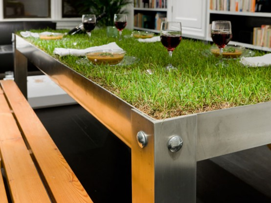 compelemnti pick nic table unique-natural-table-design-with-grass