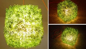 complementi grass-on green lamp by itlabs
