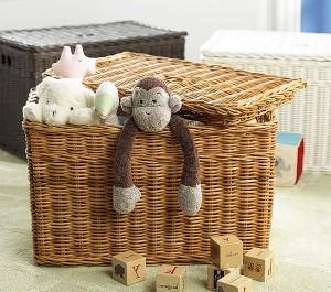 contenitore bimbi Wicker-baskets-storage