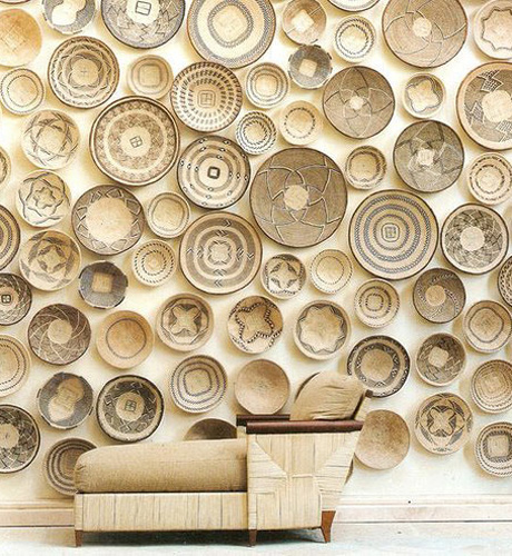deco baskets-as-wall-art