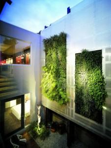 verde giardino-verticale-design