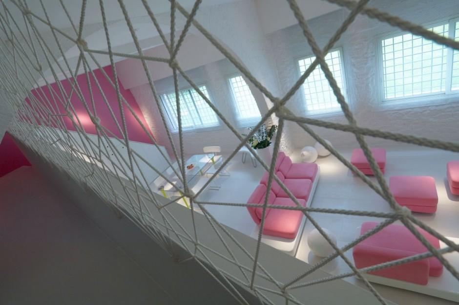 arch Il design degli interni è dell'architetto Simone Micheli