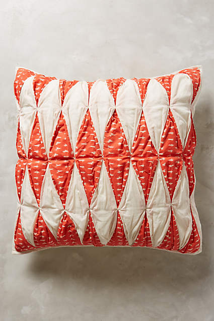 cuscino Dotted Ikat Euro Sham su anthropologie.com2