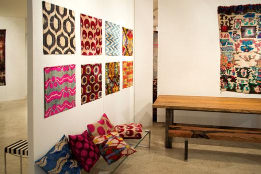 decorazione parete e cuscini